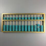 Antique Collection Copper Shelf Turquoise Abacus