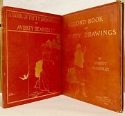 Aubrey Beardsley / Book Of Fifty Drawings And Second Book Of Fifty 1st Ed 1899