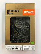 26rd3 68 Stihl New Chainsaw Chain Saw 18 In. .325 .63 68 18 Inch Blade Carbide