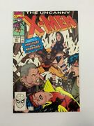 Uncanny X-men 261 Marvel Comics 1990 1st Team App Of Hard Case And The Harriers