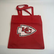 New Kansas City Kc Chiefs / Hyvee Reusable Shopping Grocery Tote Bag Nfl