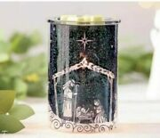 Scentsy Nativity Night Scentsy Warmer Christmas Sold Out Rare 2020 New In Box