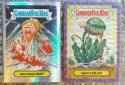 Lot Of 2 2020 Garbage Pail Kids Chrome Series 3 Refractor Cards Numbered Rare