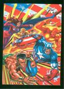 1994 Flair Marvel Annual Trading Card 36 Invaders Nm-mt High End Set Break