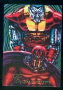1994 Flair Marvel Annual Trading Card 122 Colossus Defects Nm-mt High End Break