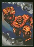 1994 Flair Marvel Annual Trading Card 1 The Thing Nm-mt High End Set Break