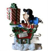 Danbury Mint Peanuts Christmas Train - Lucy Replacement Piece Only 2002