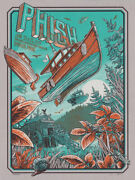 Phish Bangor Maine Poster Print Concert 6/25-26/19 Numbered Signed Not Trey New