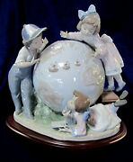 Lladro 5847 The Voyage Of Columbus Limited Addition Retired Signed Piece