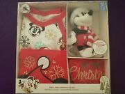 Disney Baby First Christmas Outfit- 9-12m - Nib