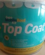 Gaco Roof Kit Top Coat Step 4 2.5 Gallon Can Gmr1600-2.5 White New
