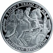 2019 Patriot Silver Round - American Revolution - Proof-like Finish - In Stock