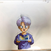 Dragon Ball Sel Picture Childrenand039s Trunks Original Anime Rare Used
