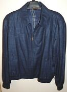 Zilli Lecco Mens Jacket Sz 64 4-5xl Authentic New Made In France