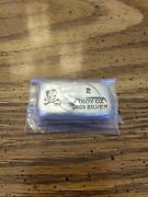 2 Oz. .999 Fine Silver Poured Bar - Prospector's Gold And Gems - Skull And...