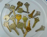 Used Cut Keys Schlage Primus Everest Auto Office All Styles And Types Of Keys.