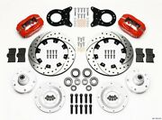 Wilwood Ford Mustang 65-70 Front 4 Piston Dynalite Brake System P/n 140-11072-dr