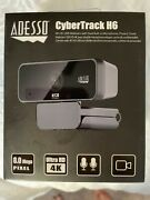Adesso Cybertrack H6 4k Webcam With Build In Microphone And Privacy