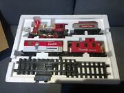 Vintage Great American Express Campbell's Soup Train Complete New Bright 1989
