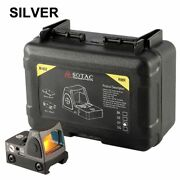 Rmr Red Dot Sight Holographic Picatinny Mount Gray Glock Pistol Airsoft