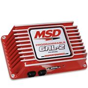 Msd 6530 Ignition Box Msd 6al-2 Digital Cd Programmable With Rev Limiter Red Ea