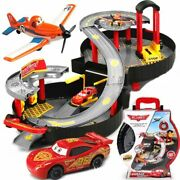 Mcqueen Parking Lot Slot Racing Track From Cars 2 3 Toys For Boys And Girls Disney