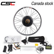 Canada Stock Electric Bicycle Conversion Kit 48v 1000w Rear Motor Wheel 26-29in