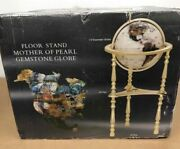 Niob Alexander Kalifano Gold Mother Of Pearl Floor 34andrdquo Globe Extremely Rare