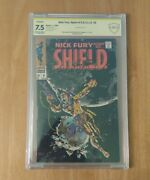 Nick Fury, Agent Of Shield 6 Cbcs 7.5 Double Signed