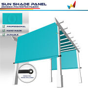 Large Waterproof Replacement Pergola Cover Sun Shade Sail Deck Patio Turquoise
