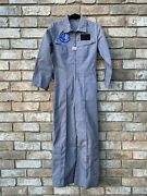 Vintage Flight Suit Mens Usaf Confederate Air Force Ghost Squadron Wwii