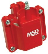 Msd Ignition 8226 High Performance Coil Gm External Dual Connector