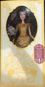 New Limited Edition Disney Beauty And The Beast Belle Figure Doll 16 Collectible