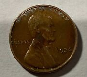 1936 - Lincoln / Wheat Leaf Penny - May Have Ddo. Take A Look Rare