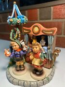 Hummel - Puppet Pal And Puppet Love W Puppet Theater Scapemusic Box Tmk-8 Mint
