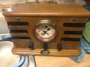 Vintage Mickey Mouse Clock Radio 1998. Works Great  Only One On E-bay