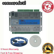 Xhc 2mhz Mach3 Usb Motion Controller Card Cnc Breakout Board For Engraver Om8