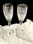 1 Waterford Crystal First Light Millennium Toasting Flute 24 Available