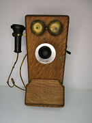 Western Electric 329w Antique Crank Wall Phone - Ear Piece Dated 1913