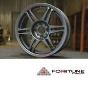 Forrtune R9s Racing Forged Wheels 15x6.5 Racing Hart Cp-035 Cp-r Rpf1 Sw388