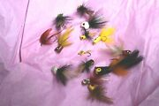 Vintage Fly Fishing Poppers From 1960 Or Earlier