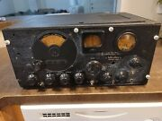 Vintage Hallicrafters S-27 Ultra High Frequency Receiver Untested No Power Cor