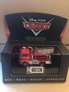 Disney Cars Diecast - Precision Series - Red- Vhtf - Combined Postage