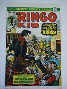And03973 Marvel Comic Ringo Kid 22 Western Test Approval Cover Proof Production Art