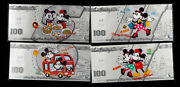 China Disney 4 X1.5 Grams Of Colored Solid Silvers - Happy Shanghai Trip