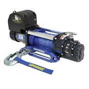 Superwinch 1695201 Talon 9.5sr Winch 9500 Lbs 3/8/ In X 80 Ft Synthetic Rope