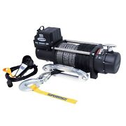 Superwinch 11500sr Winch 11500lbs 12 Vdc 3/8 X 80and039 Synthetic Rope Remote Control
