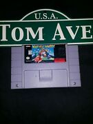 Wario's Woods Authentic Super Nintendo Snes Classic Video Game Tested