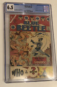 Blue Beetle 1 Cgc 6.5 1st App Of The Question 1967 Charlton Comics Ow/w