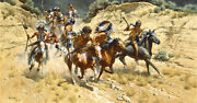 Frank C. Mccarthy The Decoys Limited Edition Canvas Giclee Native Western